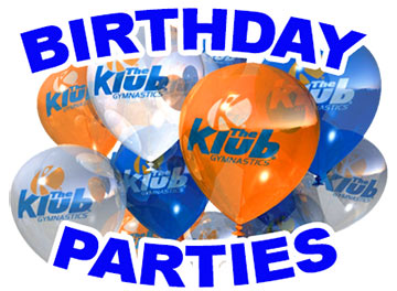 Come And Celebrate Your Childs Next Birthday With The Klub Gymnastics Our Gym Is A Fun Safe Recreational Space Where Child Can Run Jump